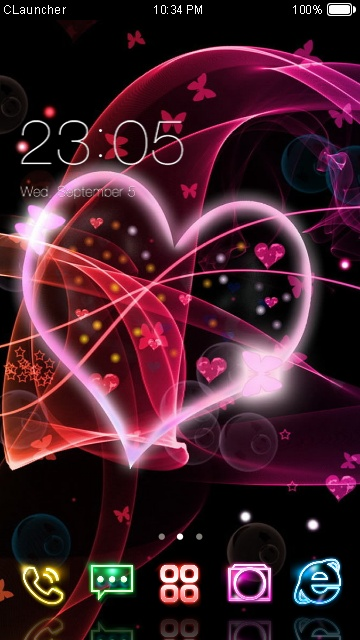 Downloads » mobile stuff » themes for nokia s60 3rd » i love you.