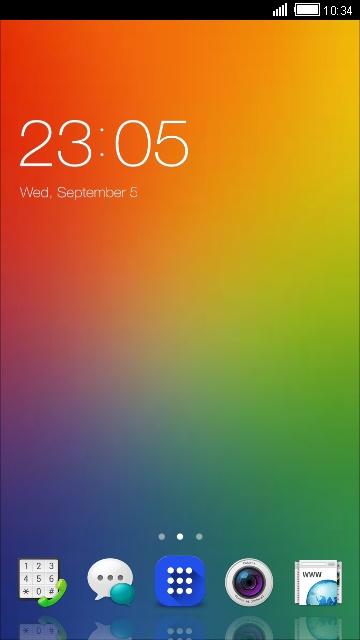 Theme for Oppo Joy 3 HD