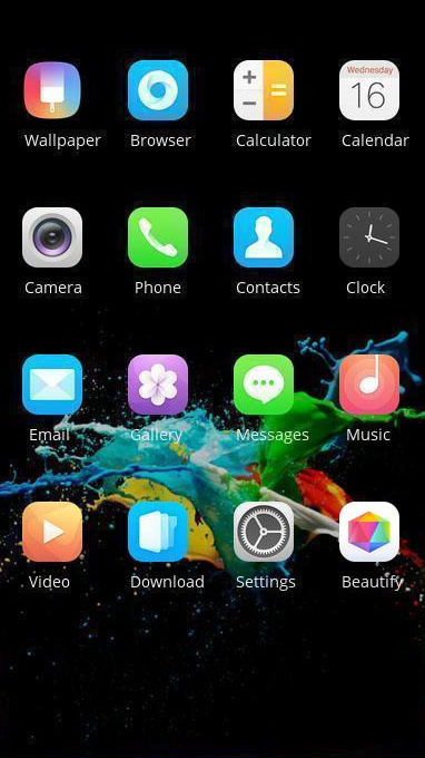 Oppo F7 theme free android theme – U launcher 3D
