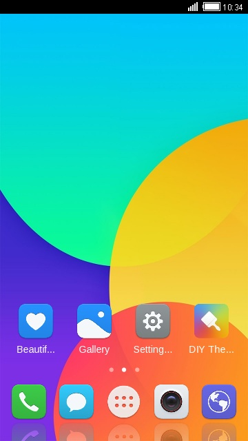 Theme for Huawei Y6 Pro (2017) free android theme – U launcher 3D