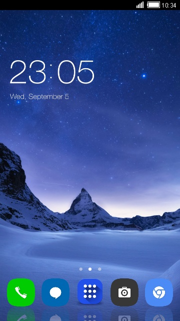 Download Theme for Vivo V5 HD theme for your Android phone