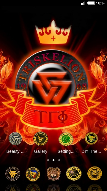 Download Tau Gamma Phi Theme For Your Android Phone