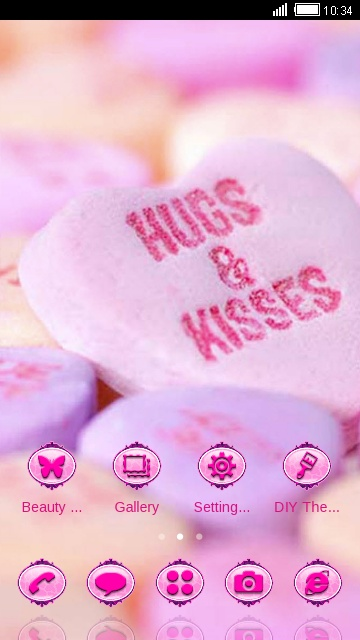 hug  kiss love candy