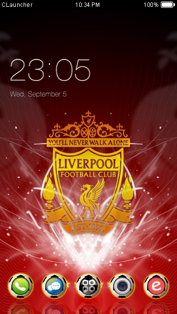Download Liverpool Fc Theme For Your Android Phone Clauncher