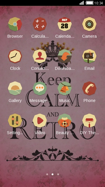 Keep Calm And Retro