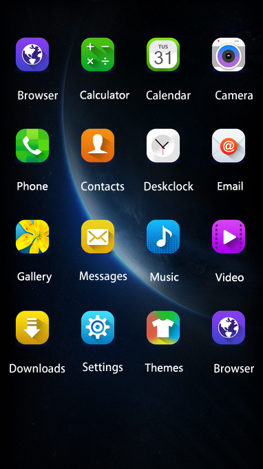 Galaxy Note theme