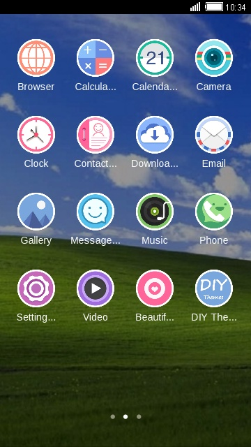 Download win XP theme for your Android phone — CLauncher