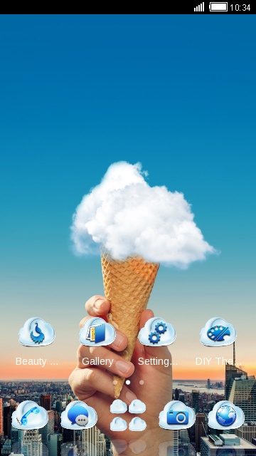 Cloud Ice Cream
