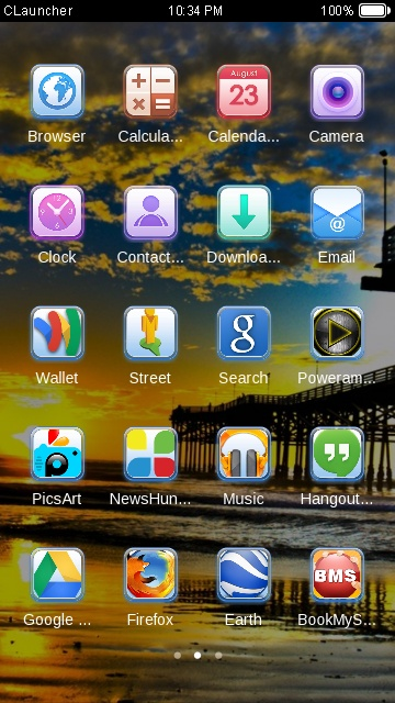 Download sonu theme for your Android phone — CLauncher