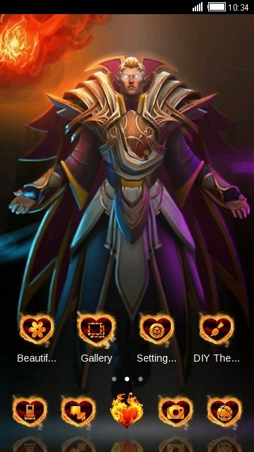 download dota 2 invok theme for your android phone clauncher