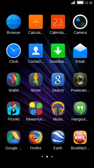 Infinix Note 4 free android theme – U launcher 3D