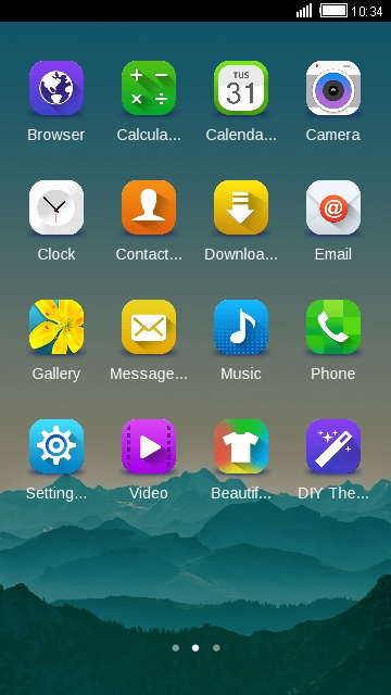 Theme For Samsung Galaxy Y Mysterious Wallpaper Free Android Theme