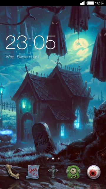 Download Halloween House Theme: Ghost Haunted House theme for your