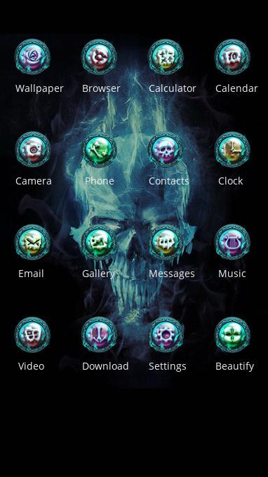 skull bones cool