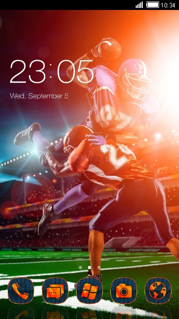 Football Launcher Theme & Wallpaper