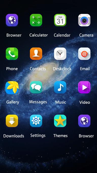 Galaxy On8 theme