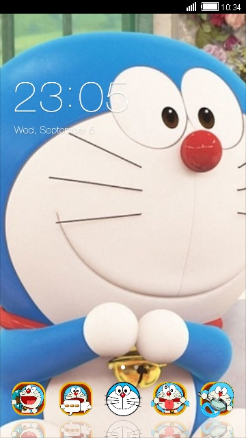 Download Doraemon Icon Theme For Your Android Phone Clauncher
