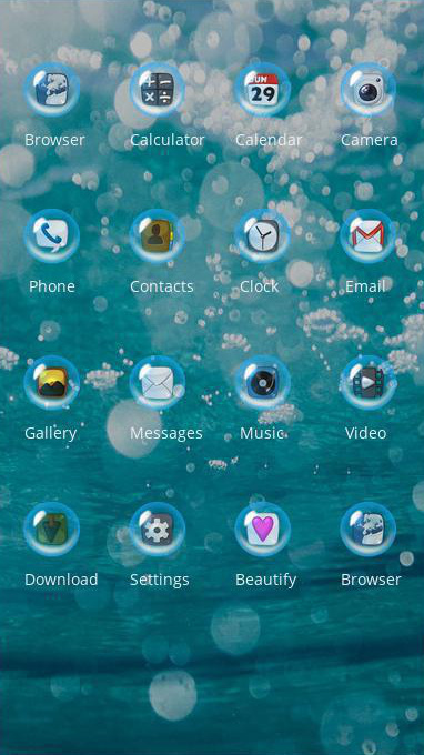 download bubbles theme theme for your android phone clauncher