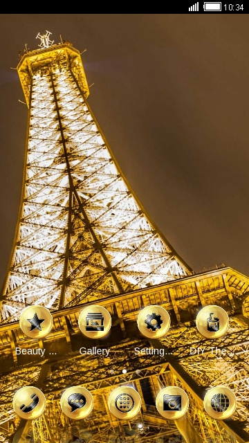gold paris dream