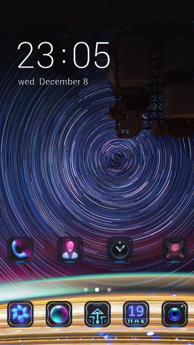 satelite view theme