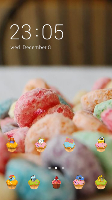 sweet candy theme