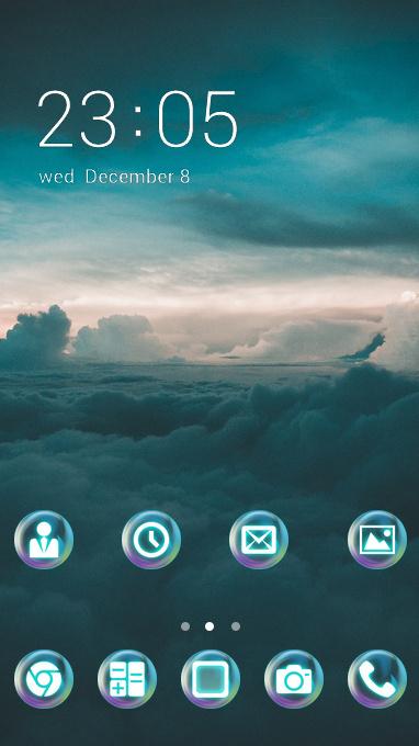 dark cloud theme