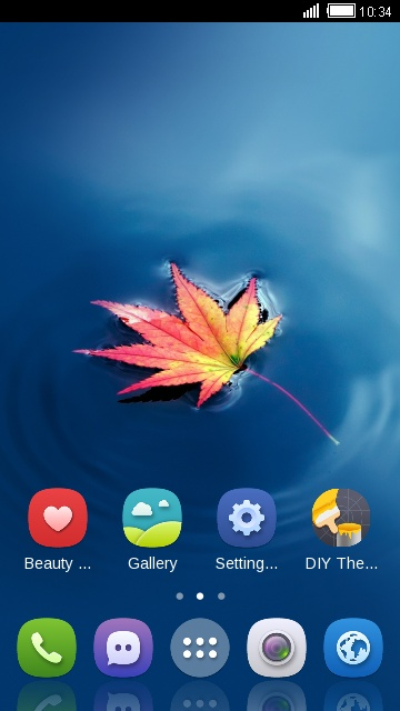 Fall Theme Maple Leaf  Live Wallpaper