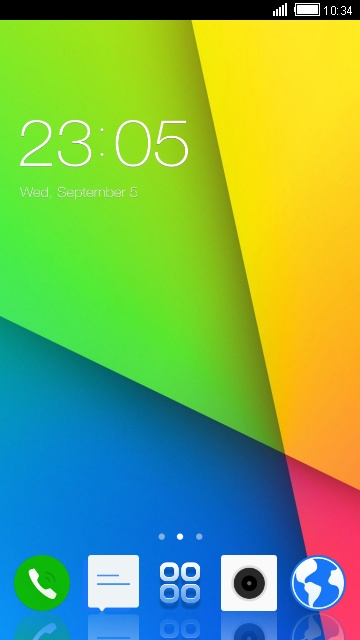 Download Vivo Y31L theme for your Android phone — CLauncher