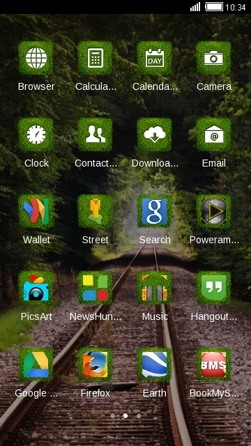 Green Nature Forest Theme