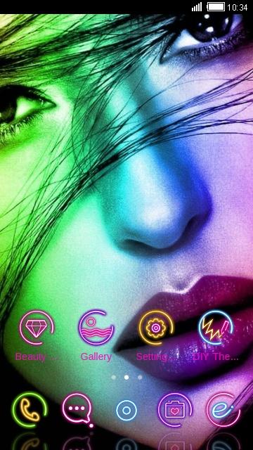 girl arcobaleno