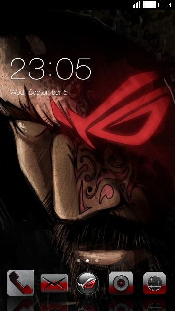 download asus rog theme android