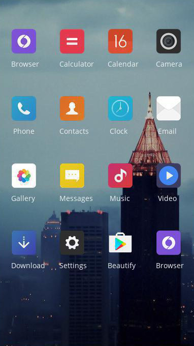 oppo f5 free android theme – U launcher 3D