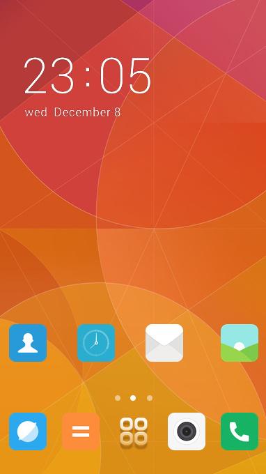 Xiaomi Redmi theme