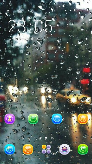 raindrop theme
