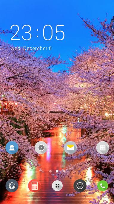 Nature theme hanami blossom sakura wallpaper