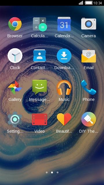 i3 Tecno Launcher Themes & HiOS wallpaper free android theme – U