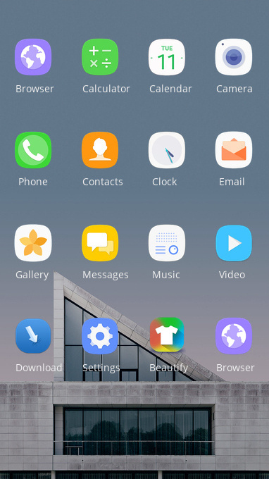 LG v40 thinQ free android theme – U launcher 3D