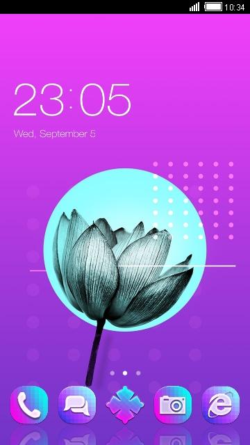 Lotus Layout design