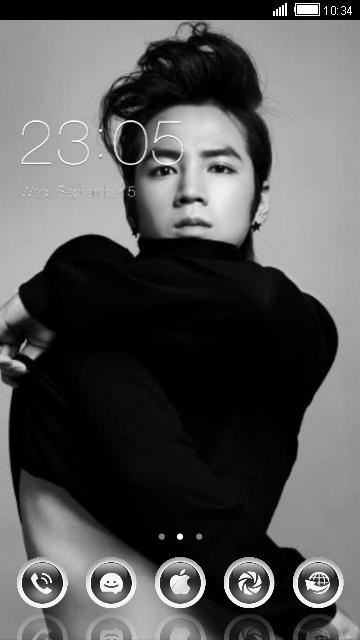 Jang Geun Suk Free Android Theme U Launcher 3d