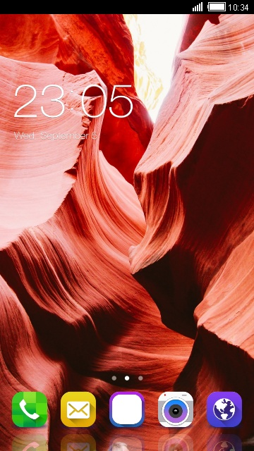 Theme for Samsung S6 Red HD