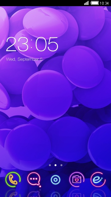 Purple Neo Romantic Theme