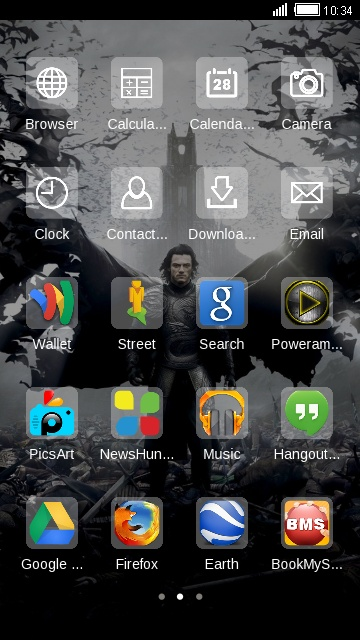 Download dracula theme for your Android phone — CLauncher