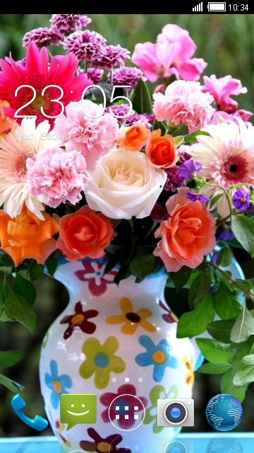Flores Wallpaper