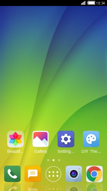 Theme for Oppo F5 free android theme – U launcher 3D