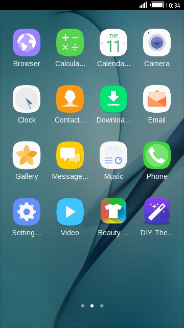 Theme for Galaxy J7(2016) HD