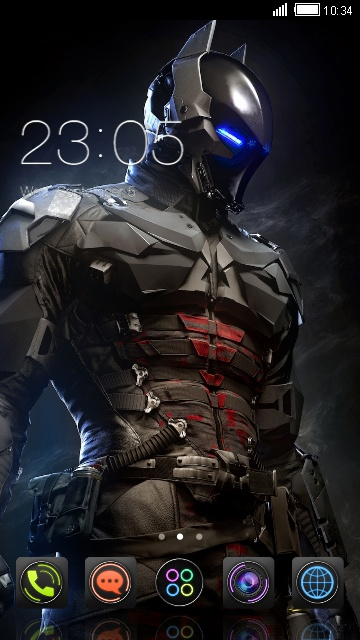 Download Batman Suit theme for your Android phone — CLauncher