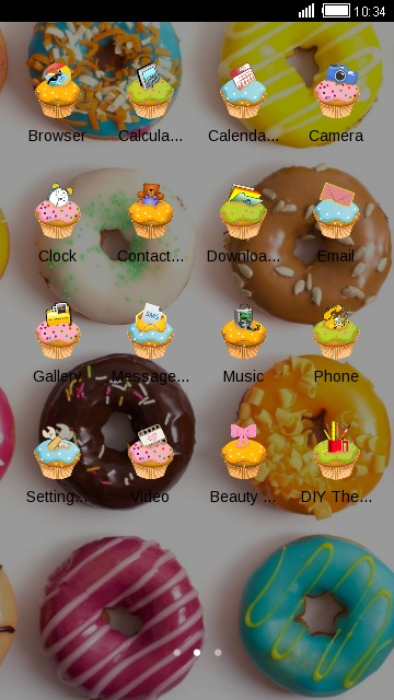 Cute Cupcake Dessert