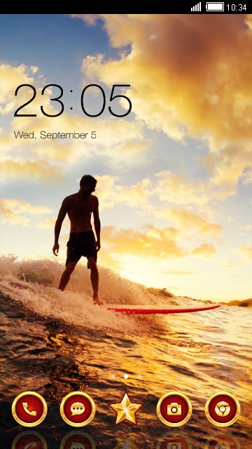 dusk surf