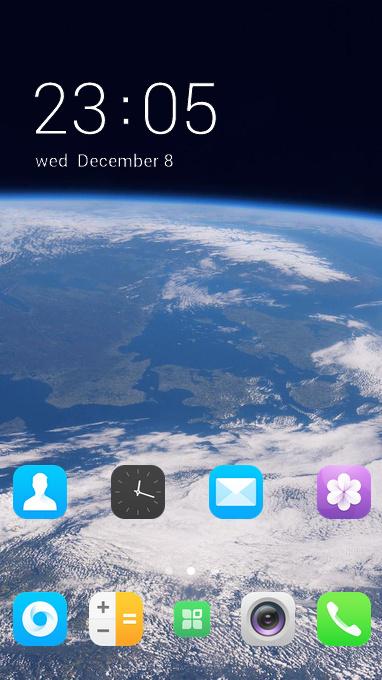 blue planet theme