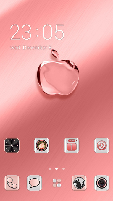 pink crystal apple